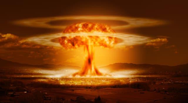 """Wissenschaft Wissensfrage: Wer gilt als """"Vater der Atombombe""""?"""