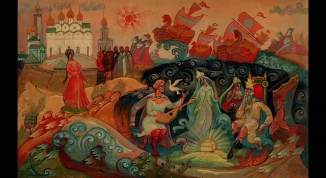 Культура Запитання-цікавинка: Хто з перелічених героїв новгородських билин грав на гуслях і бував у морського царя?