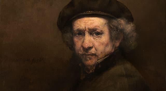 Kultura Pytanie-Ciekawostka: W którym wieku malował Rembrandt?