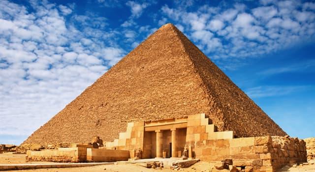 Культура Запитання-цікавинка: Скільки великих відомих пірамід знаходиться в Гізі?