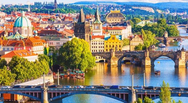 Географія Запитання-цікавинка: Зі скількома країнами межує Чехія?