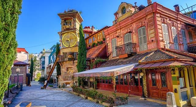 Geografia Pytanie-Ciekawostka: Jakiego kraju stolicą jest Tbilisi?