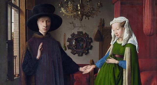 """Kultur Wissensfrage: Wer ist der Autor vom bekannten Gemälde """"Arnolfini-Hochzeit""""?"""