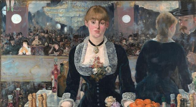 Cultura Pregunta Trivia: ¿Qué artista es el autor de «Un bar del Folies-Bergère», una de sus obras más notables?