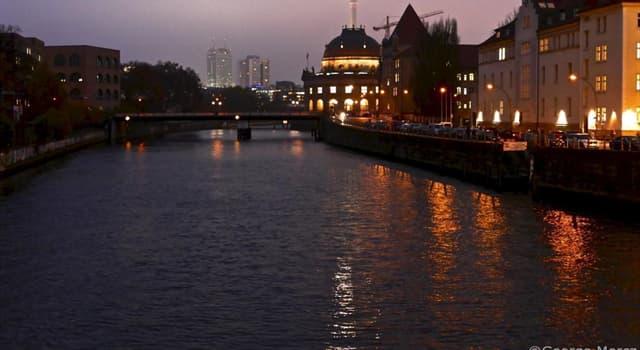 Geographie Wissensfrage: Durch welche europäische Hauptstadt fließt die Spree?