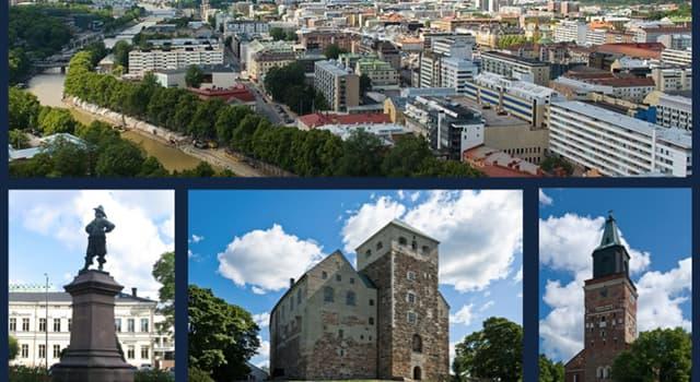 Geografia Pytanie-Ciekawostka: Turku to najstarsze miasto w jakim kraju?