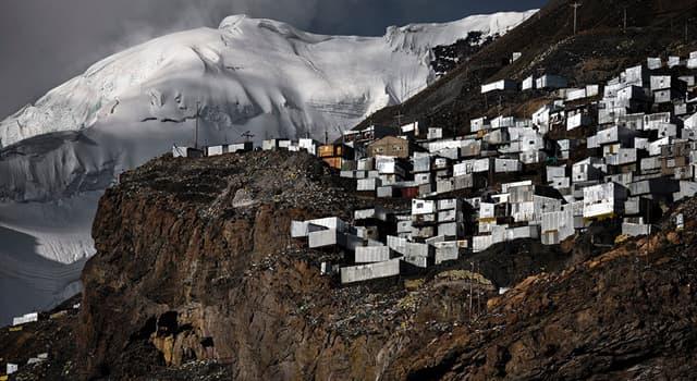 Географія Запитання-цікавинка: В якій країні знаходиться найвищий населений пункт на Землі?
