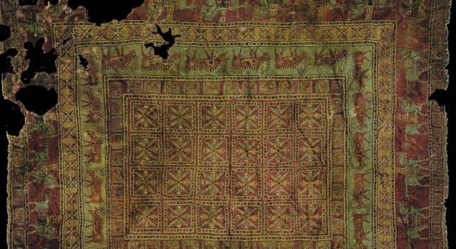 Geschichte Wissensfrage: Wo wurde 1947 der älteste Teppich der Welt gefunden?