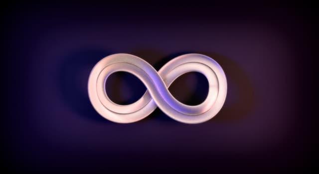 Історія Запитання-цікавинка: В якому році вперше був використаний символ нескінченності?