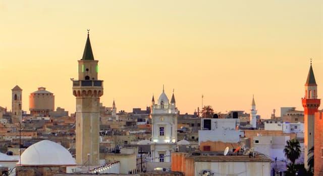 Geographie Wissensfrage: Welches Land grenzt an Libyen nicht?