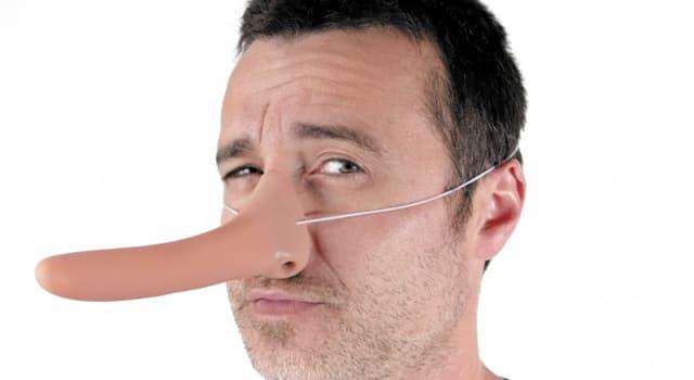 Культура Запитання-цікавинка: Чий ніс починав зростати, якщо він брехав?