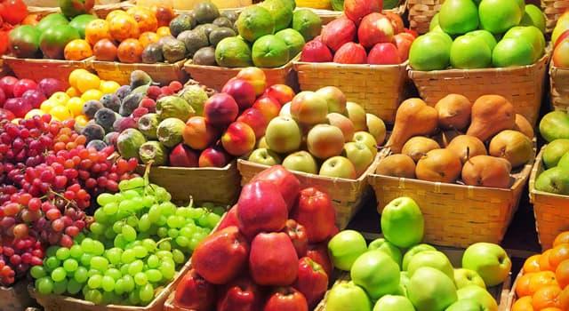 природа Запитання-цікавинка: Що з перерахованого не є назвою одного і того ж плоду?