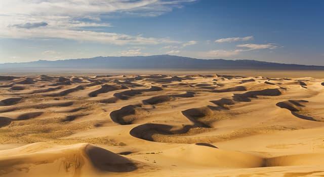 Geographie Wissensfrage: Wo liegt die Wüste Gobi?