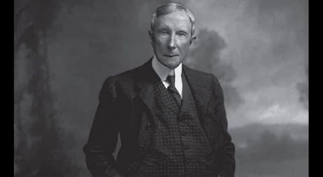 historia Pytanie-Ciekawostka: W jakiej branży John Davison Rockefeller się wzbogacił?
