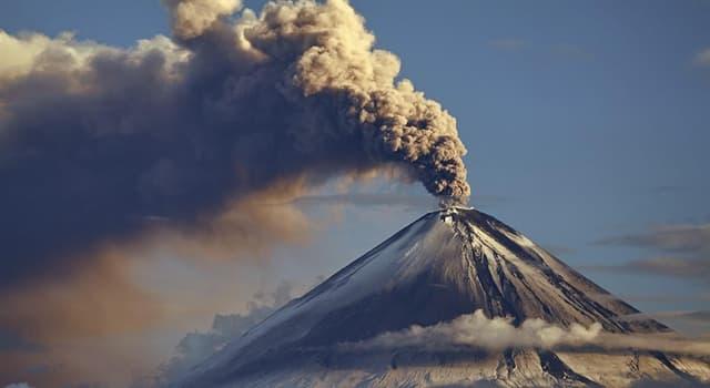 Natur Wissensfrage: Wie heißt ein Vulkangestein, das aus hochvesikulärem, rau strukturiertem Vulkanglas besteht?
