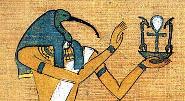 Kultur Wissensfrage: Wie heißt der Gott der Wissenschaft, der Weisheit und des Mondes in der ägyptischen Mythologie?