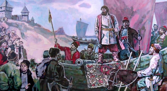 Історія Запитання-цікавинка: Як звали донського козака, ватажка повстання 1670-1671 років, найбільшого в історії допетрівською Росії?