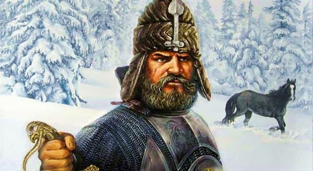 Історія Запитання-цікавинка: Як звали козачого отамана, історичного завойовника Сибіру для Російської держави?