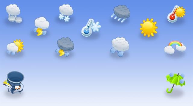 Наука Запитання-цікавинка: Яка наука вивчає погоду?