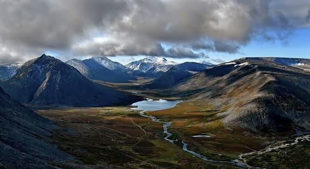Географія Запитання-цікавинка: Які гори умовно поділяють Європу і Азію?