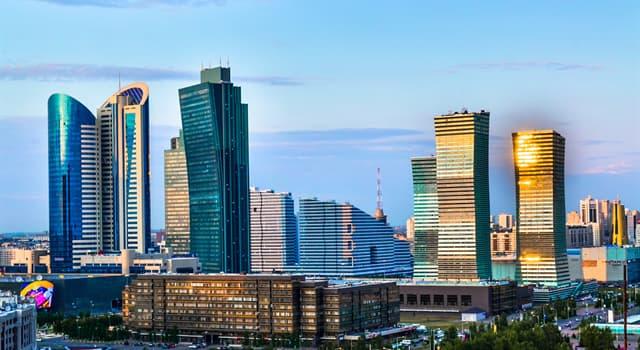 Історія Запитання-цікавинка: Яке з перерахованих назв раніше не належало столиці Казахстану?