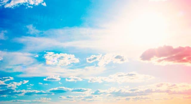 природа Запитання-цікавинка: Якого виду хмар не існує?