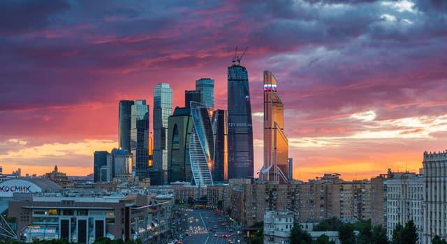 Географія Запитання-цікавинка: Яке місто не входить в трійку найбільших міст Росії за чисельністю населення?