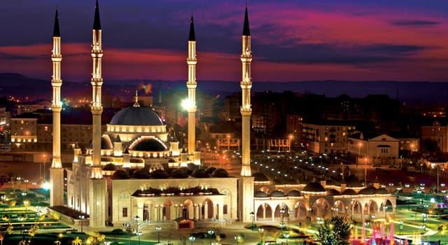 Географія Запитання-цікавинка: Яке місто є столицею Чеченської Республіки?