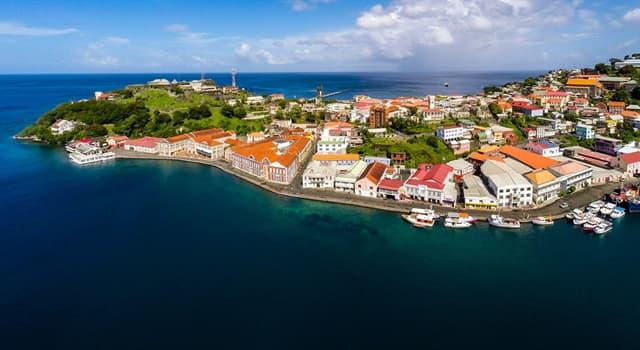 Географія Запитання-цікавинка: Яке місто є столицею Гренади?