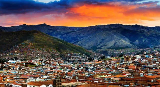 Geographie Wissensfrage: Wie heißt die Hauptstadt von Peru?