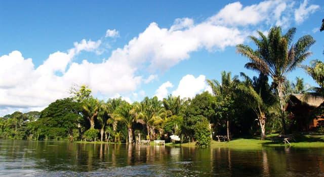 Geographie Wissensfrage: Was ist die Hauptstadt von Suriname?