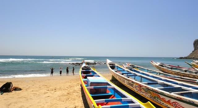 Географія Запитання-цікавинка: Яке місто є столицею Сенегалу?