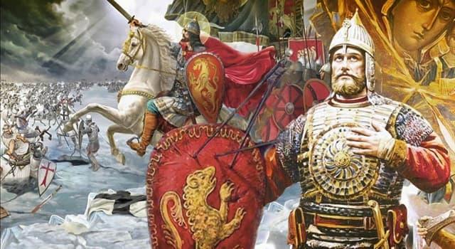 Історія Запитання-цікавинка: Яке було прізвисько князя Олександра Ярославовича, який переміг шведських і німецьких лицарів?
