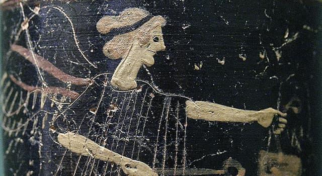 Kultur Wissensfrage: Wer ist Iris nach der griechischer Mythologie?