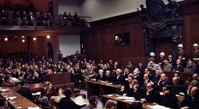 Історія Запитання-цікавинка: Коли почав роботу Міжнародний військовий трибунал в Нюрнберзі?