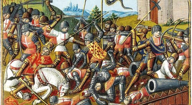 Історія Запитання-цікавинка: Між ким йшла Столітня війна?