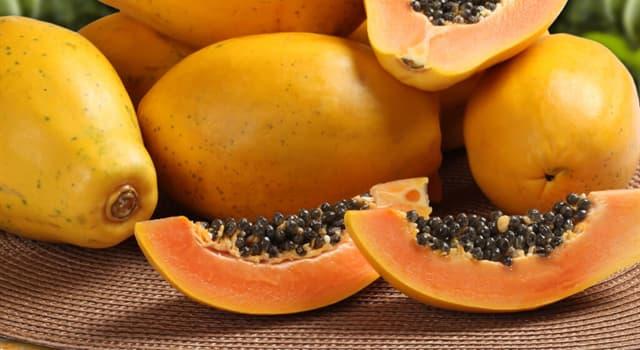 Natur Wissensfrage: Was für eine Frucht ist auf dem Foto dargestellt?