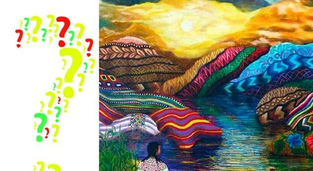 """Cultura Pregunta Trivia: ¿Qué es la """"Pachamama""""?"""