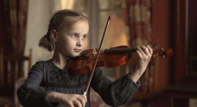 Культура Запитання-цікавинка: Скільки струн у скрипки?