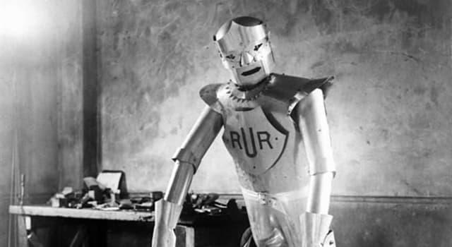 """natura Pytanie-Ciekawostka: W którym roku termin """"robot"""" został wprowadzony przez czeskiego pisarza Karela Capka?"""