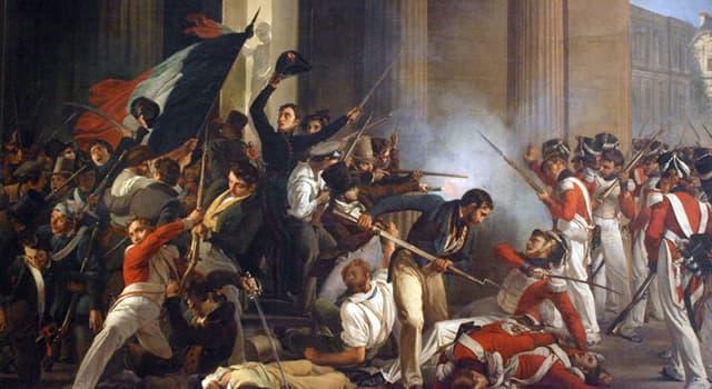 Історія Запитання-цікавинка: В яких роках відбулася Велика французька революція?