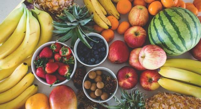 natura Pytanie-Ciekawostka: Który owoc zawiera najwięcej kalorii?