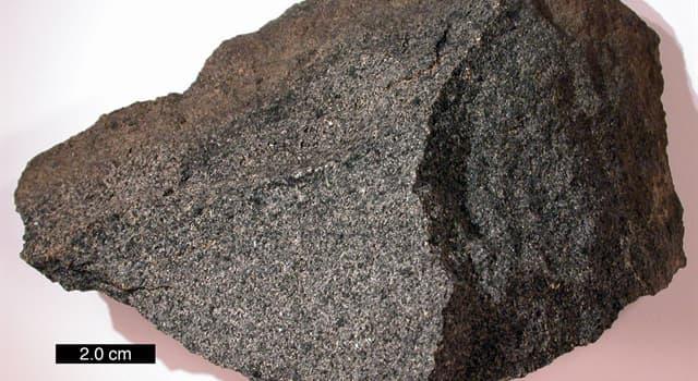 nauka Pytanie-Ciekawostka: Jaki kamień powstaje wskutek ochłodzenia ławy i magmy?