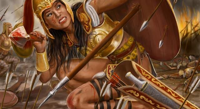 Kultur Wissensfrage: Wie nannte man in Altgriechenland die Kämpferinnen?