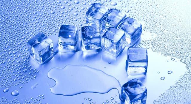 Wissenschaft Wissensfrage: Bei wieviel Grad gefriert das Wasser?