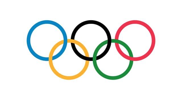 sport Pytanie-Ciekawostka: Na których igrzyskach po raz pierwszy zawisła flaga przedstawiająca   pięć złączonych kół?