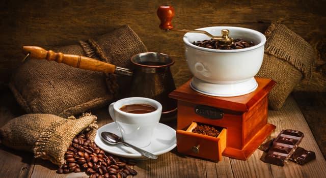 Культура Запитання-цікавинка: Що з перерахованого необхідно для приготування кави?