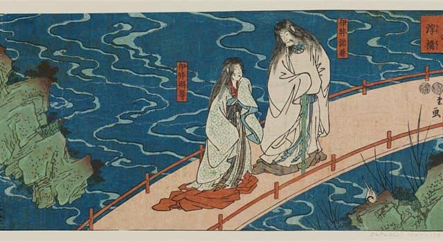 Культура Запитання-цікавинка: Як в японській міфології звуть бога творіння?