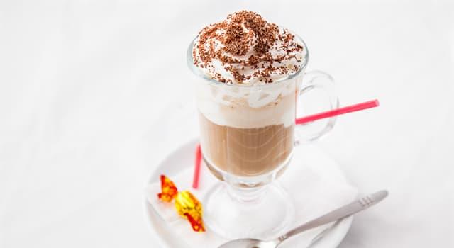 Культура Запитання-цікавинка: Яку назву носить холодний напій на основі кави з додаванням морозива?