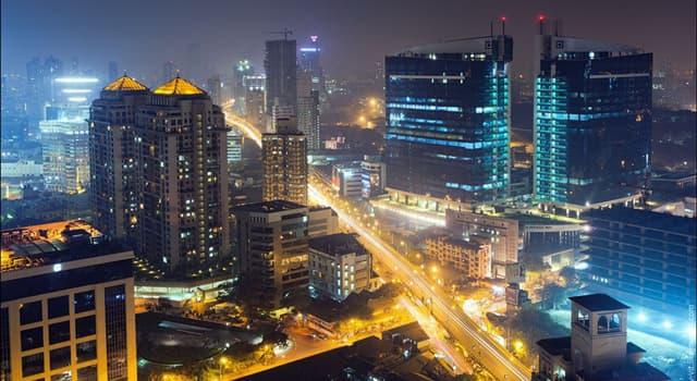 Geographie Wissensfrage: Welche Stadt gilt als die bevölkerungsreichste Stadt Indiens?